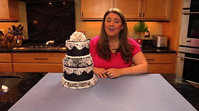 How to create a Vintage Cake with Wafer Paper