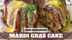 Free Video: Mardi Gras King Cake