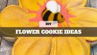 Royal Icing Cookies: Flower Cookies