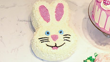 Course: How to Create a Simple Easter Bunny Dessert Cake