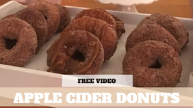 Free Video: Apple Cider Donuts