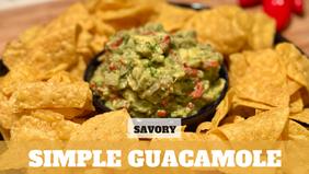 Free Video: Simple Guacamole
