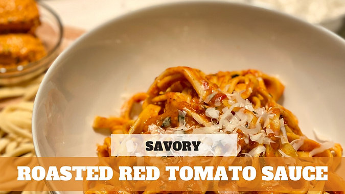 Paid Video: Roasted Red Tomato Sauce
