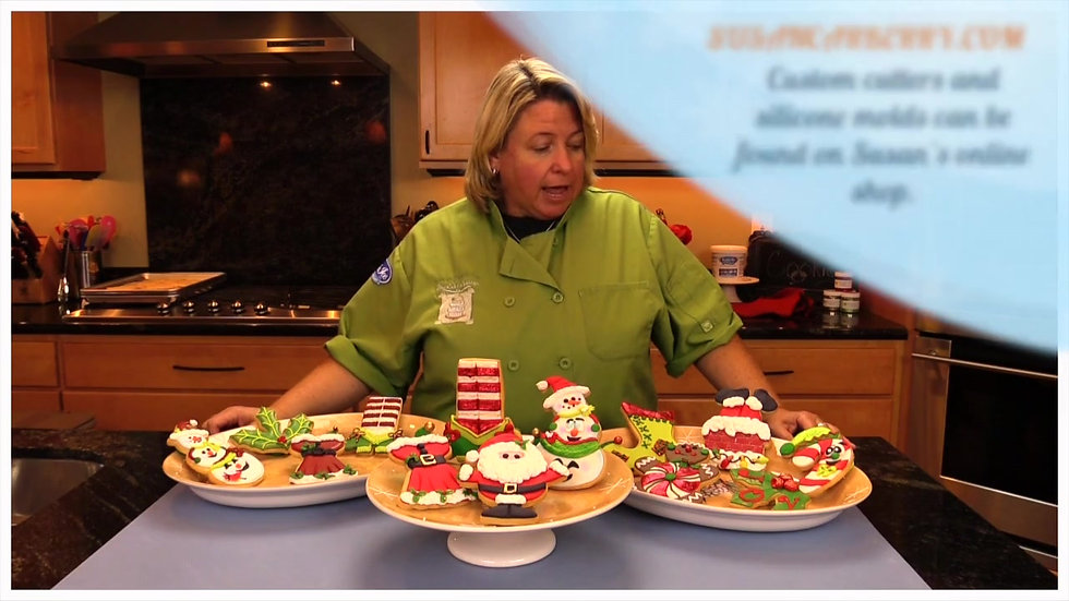 How to create 12 Holiday Cookies