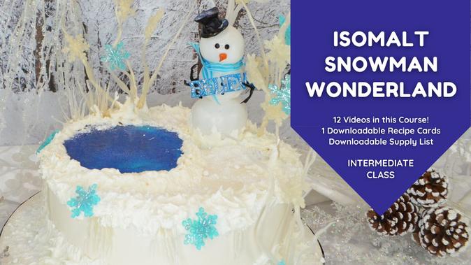 Preview: Isomalt Winter Wonderland