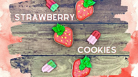 DIY Kit: Strawberry Flood Cookies