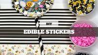 DIY Treat Kit Sticker Cookies