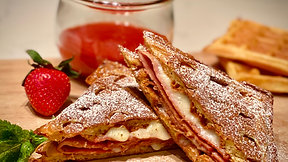 Free Video: Monte Cristo Waffle Sandwich