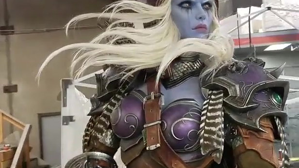 The Making of: Sylvanas statue