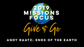 Missions Focus: Ends of the Earth