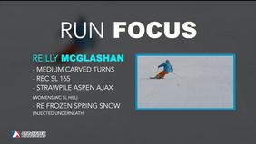 RUNFOCUS 3: Reilly McGlashan Carved Medium Turns