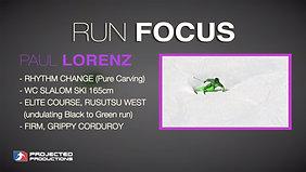 RUNFOCUS: Paul Lorenz Rhythm Change