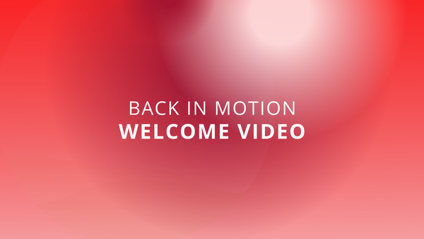 Back In Motion   Promotional Video