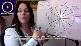 La Luna Blanca Seminario Online de Astrología por Loliana Moratinos Video pregrabado