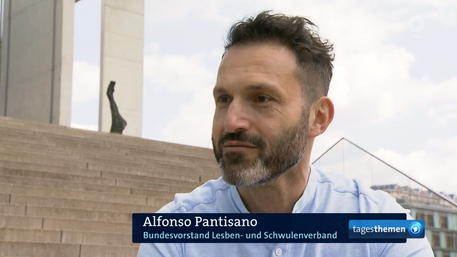 Tagesthemen - Alfonso Pantisano zum Blutspendeverbot