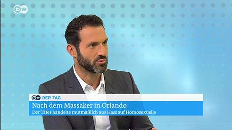 Deutsche Welle - Alfonso Pantisano spricht zum Massaker in Orlando