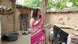Dalit tied to a tree & robbed of her property