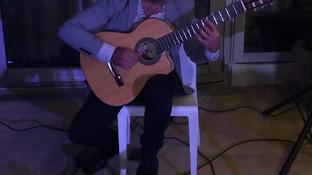 Solo Spanish Guitar at Fontainebleau Hotel, Miami