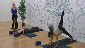 "Karen Russell - Gentle Yoga ""Yoga At The Wall"""
