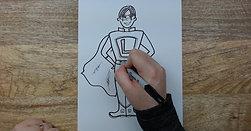 Watch Me Draw: Superhero Liam