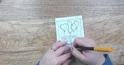 Watch Me Draw: Birthday Card