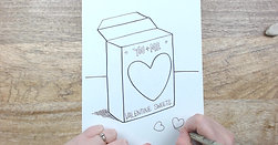 Watch Me Draw: Valentine Candy Box