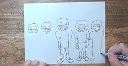 Watch Me Draw: Football Team