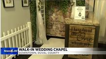 News4Jax story 2 on Walk-in Wedding Chapel