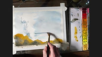 Keith Emerling Watercolor Wave Demo Video