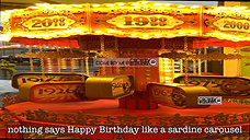 Birthday Carousel