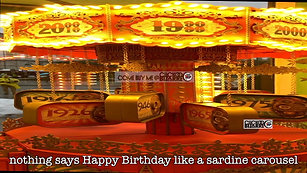 Birthday Carousel