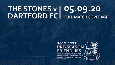 Stones v Dartford FC