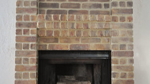 How To Change The Brick Color of Your Fireplace - DIY Decorative Paint