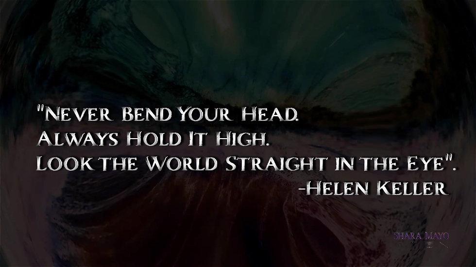 Helen Keller Inspirational Quote