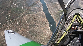 First hour of flight instruction in a T6 Texan