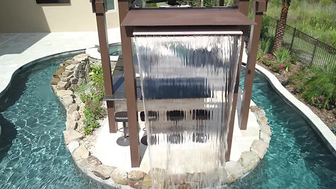Water Feature Pergola