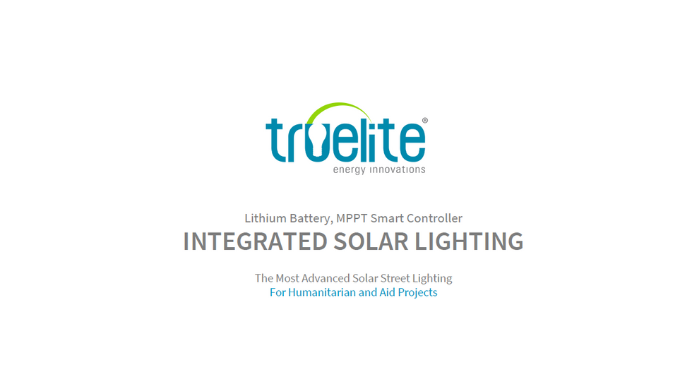 INTEGRATED SOLAR LIGHTING