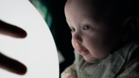Natten - performance and installation for babies by MYKA
