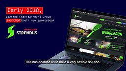 Testimonial Sportradar - Logrand Group