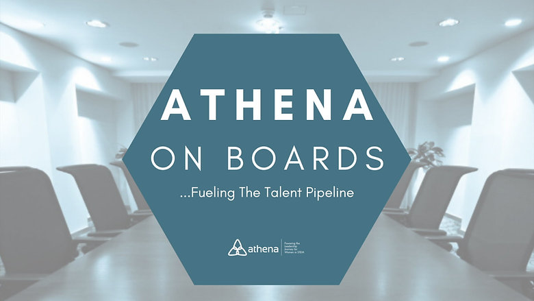 Athena on Boards | Fueling the Talent Pipeline