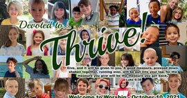 """October 11, 2021 Worship: """"Devoted to Thrive"""""""