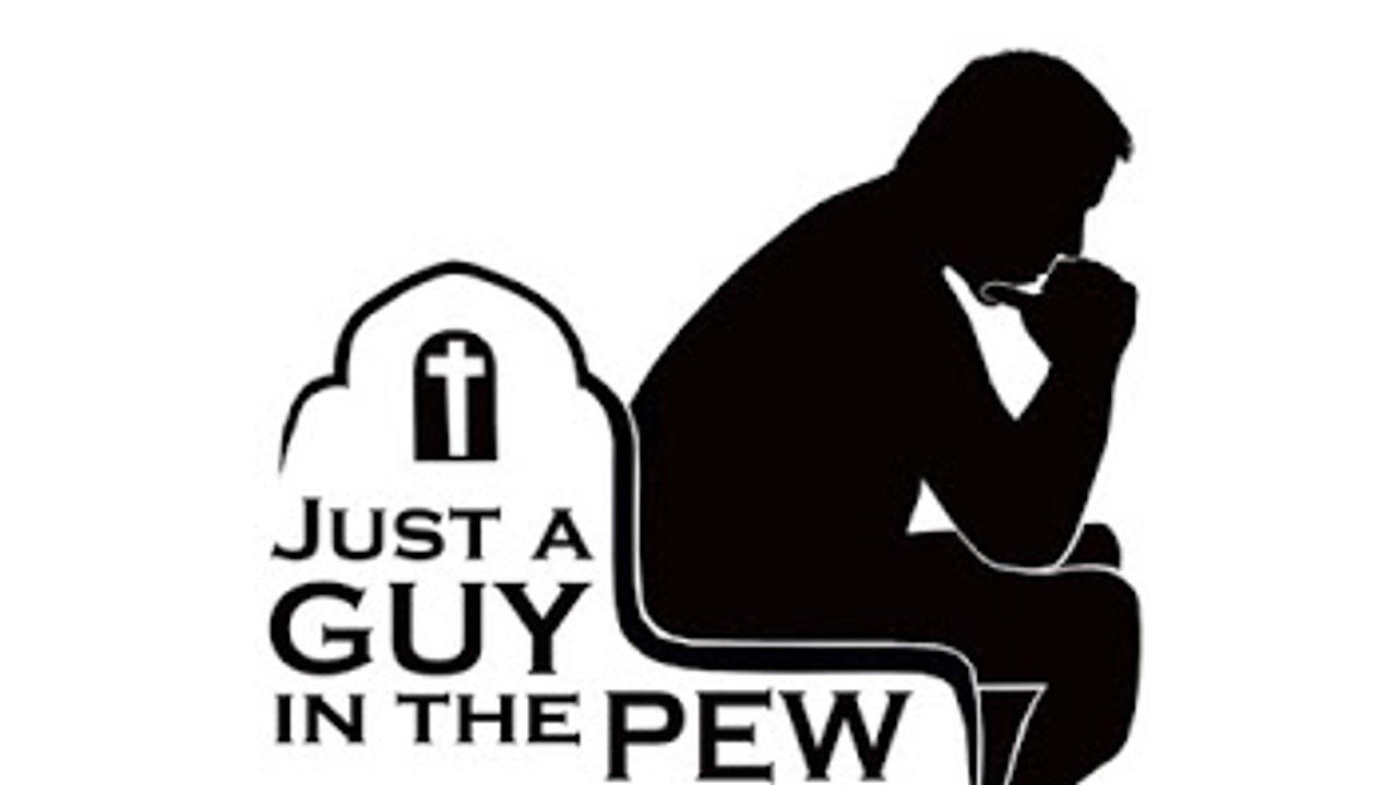 Just A Guy In The Pew