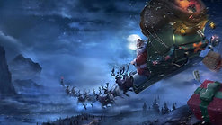 Up, Up, Up In the Sleigh