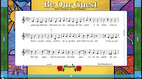 Be Our Guest-Notation