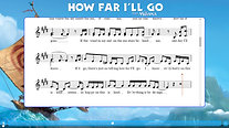 How Far I'll Go-Notation