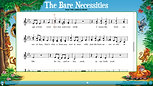 The Bare Necessities-Notation