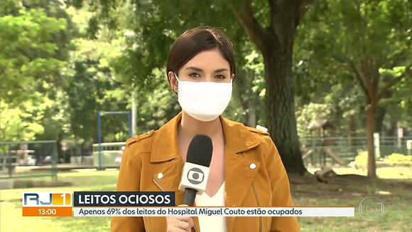 Entrevista RJ TV, Hospitais COVID