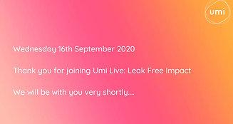 Umi Live: Leak Free Impact