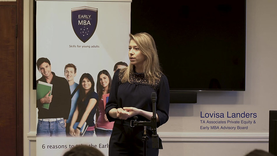 Lovisa Lander - Full Keynote @ The Early Leaders Programme, Senate House, University of London, April 2019