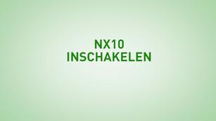 Instructie NX10 Inschakelen